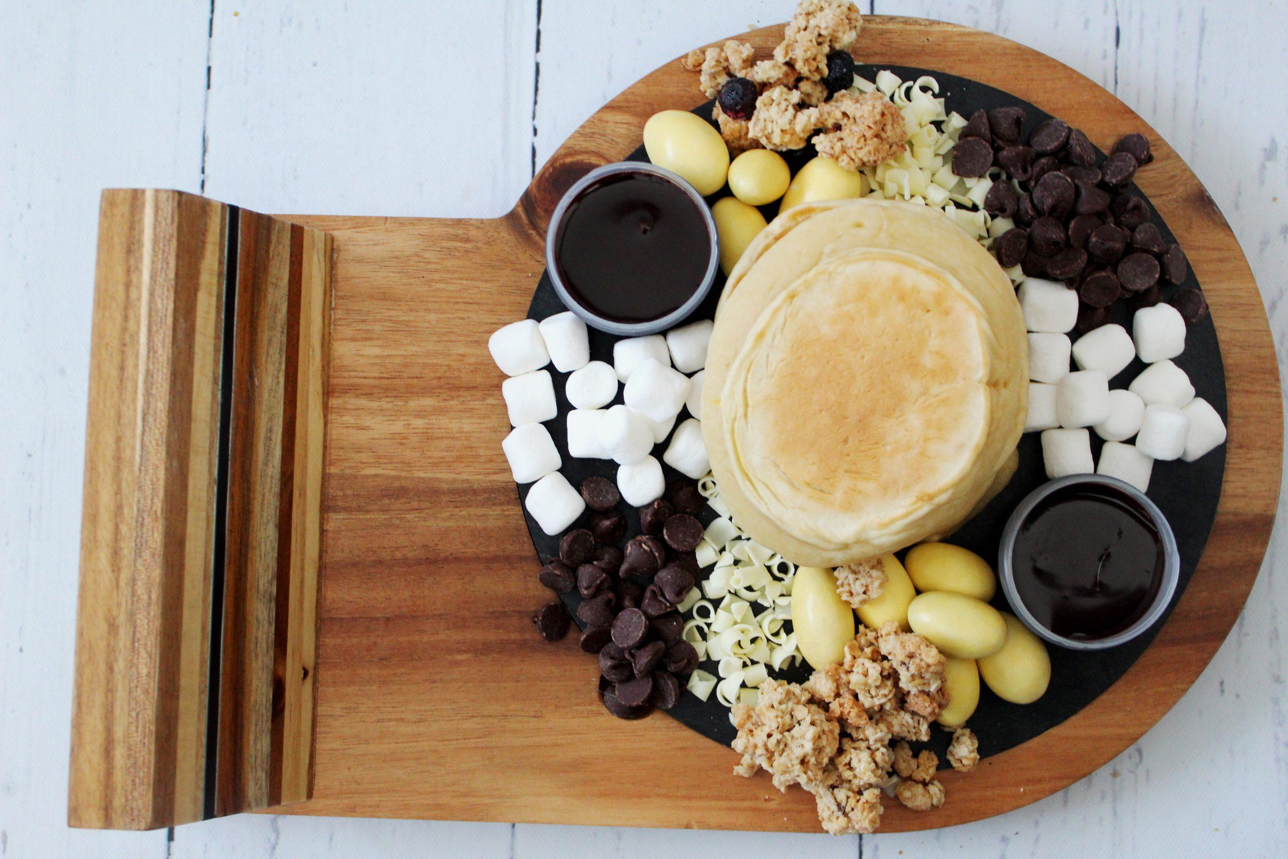 pancake charcuterie board step 8