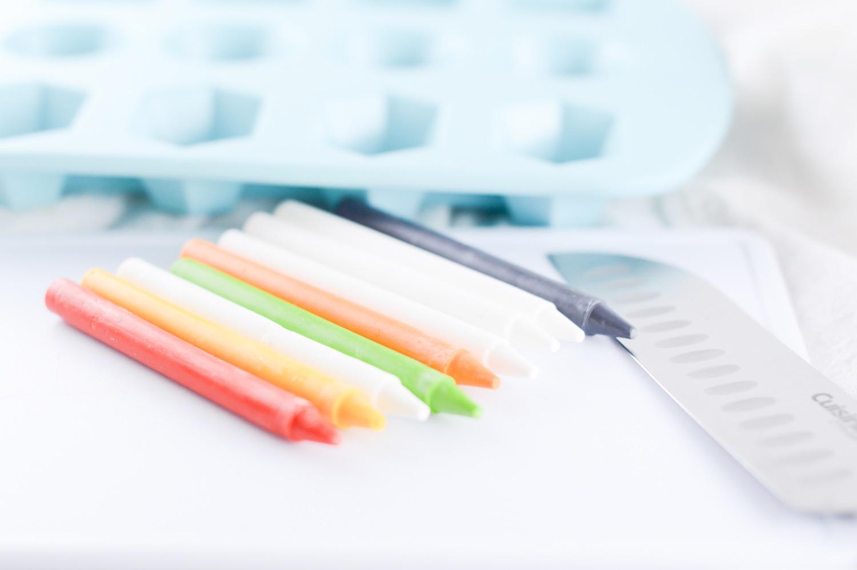 supplies to melt and make diy crayons