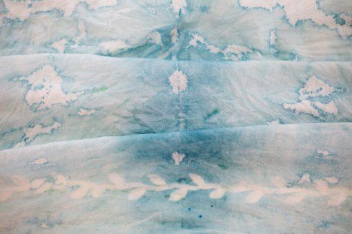 finished cyanotype tea towel diy pop shop america
