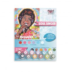 aretha franklin paint by numbers art supply pop shop america