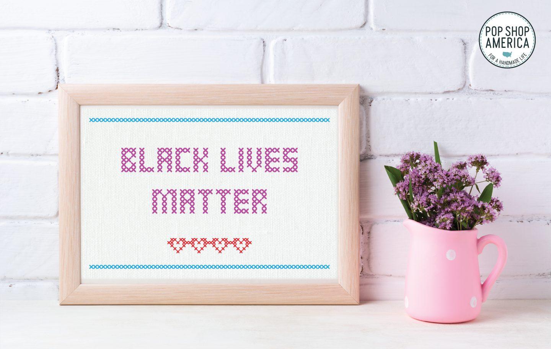 black lives matter free art printable