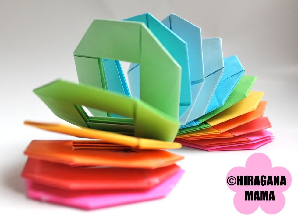 how to make an origami slinky diy pop shop america