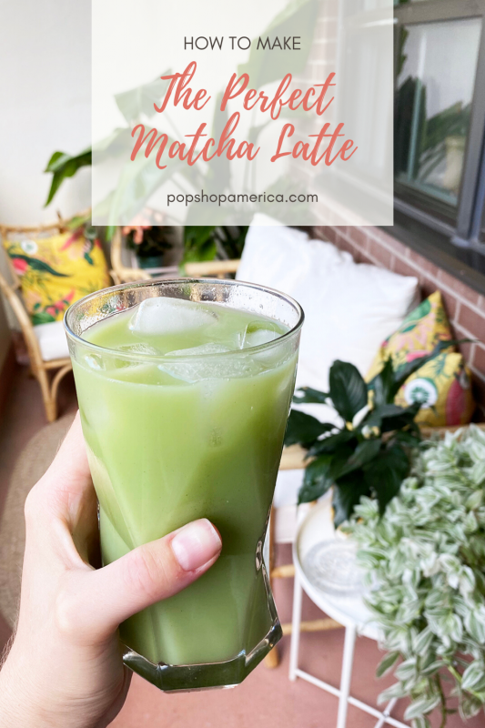 how to make the perfect matcha latte recipe