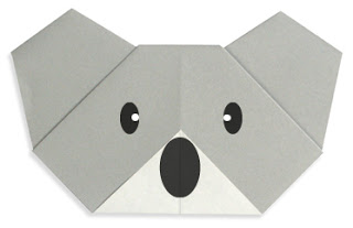 koala face origami tutorial pop shop america