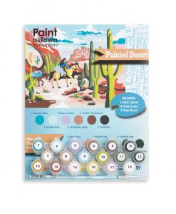 painted desert paint by numbers kit