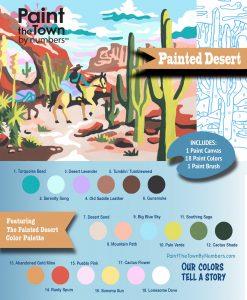 painted desert painting kit pop shop america