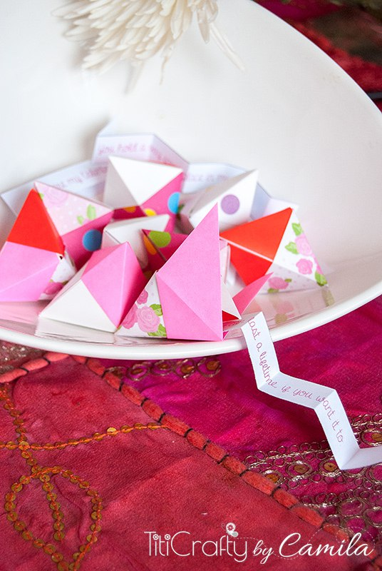 the crafting nook fortune cookie origami diy