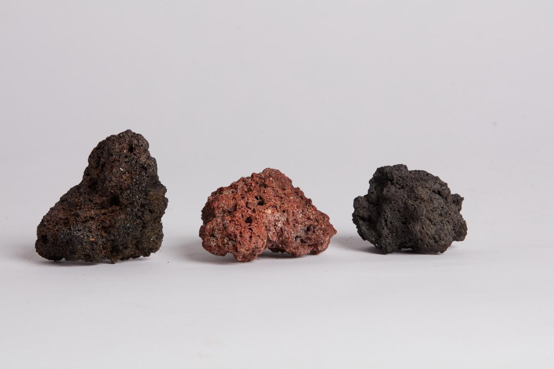 add lava rock or river rocks to make a diy fire pit