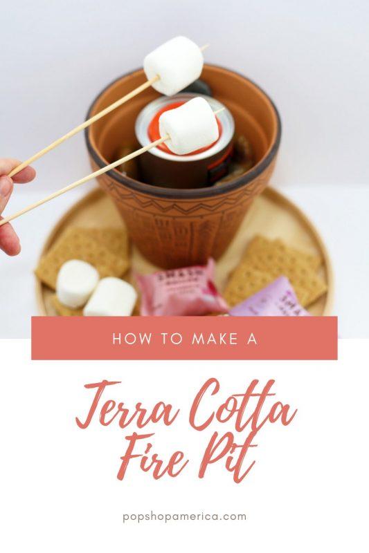 how to make a terra cotta fire pit pop shop america