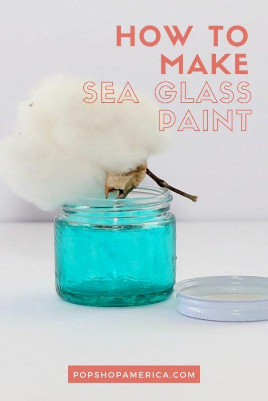 how to make sea glass paint pop shop america