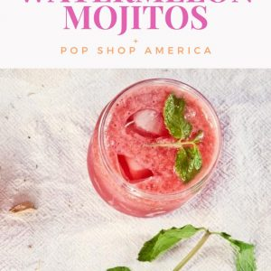 slushie watermelon mojito recipe pop shop america