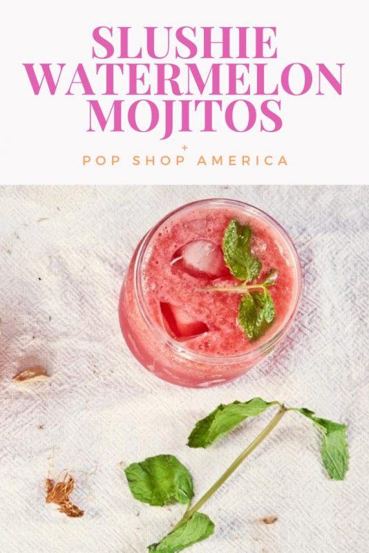 slushie watermelon mojito recipe pop shop america