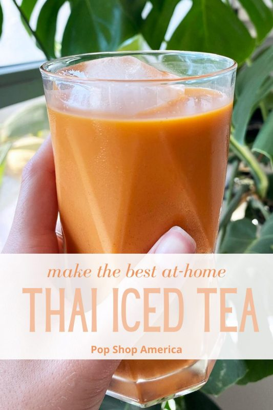 Thai Iced Tea at Home