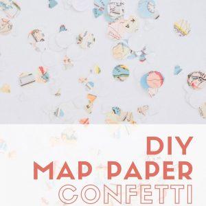 diy map paper confetti pop shop america
