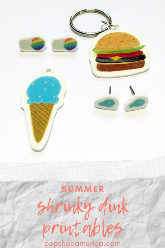 summer shrinky dink printables pop shop america