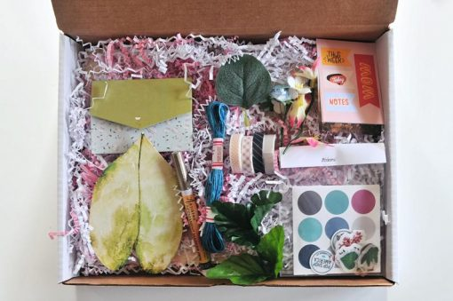 craft supply kit diy vision board making