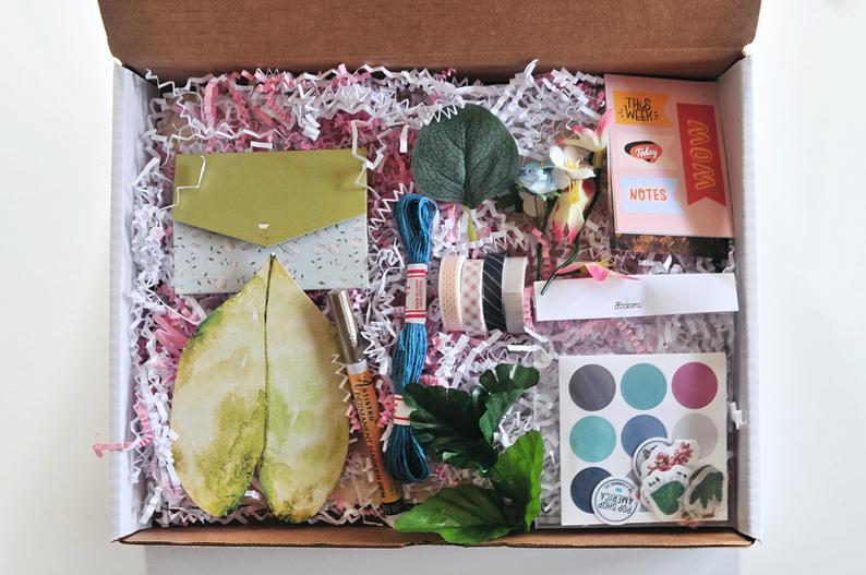 craft supply kit diy vision board making