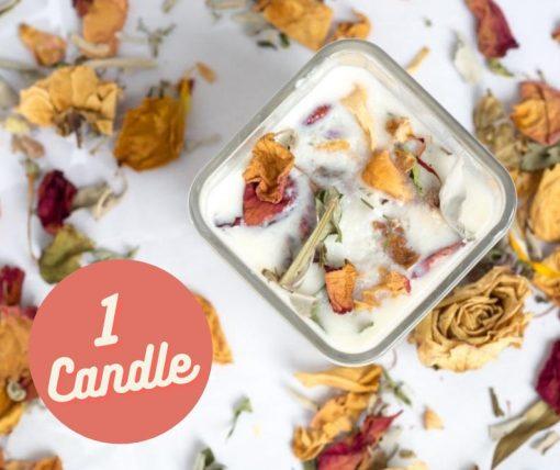 diy candle making kit 1 candle