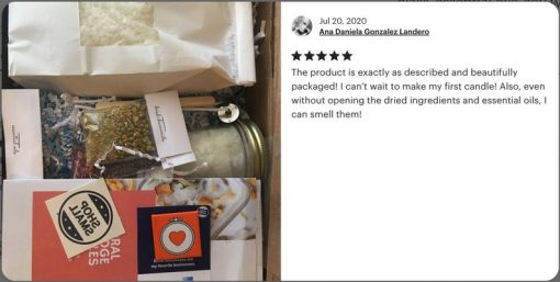 diy candle making kit one candle review