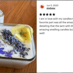 diy candle making kit with dried flowers review