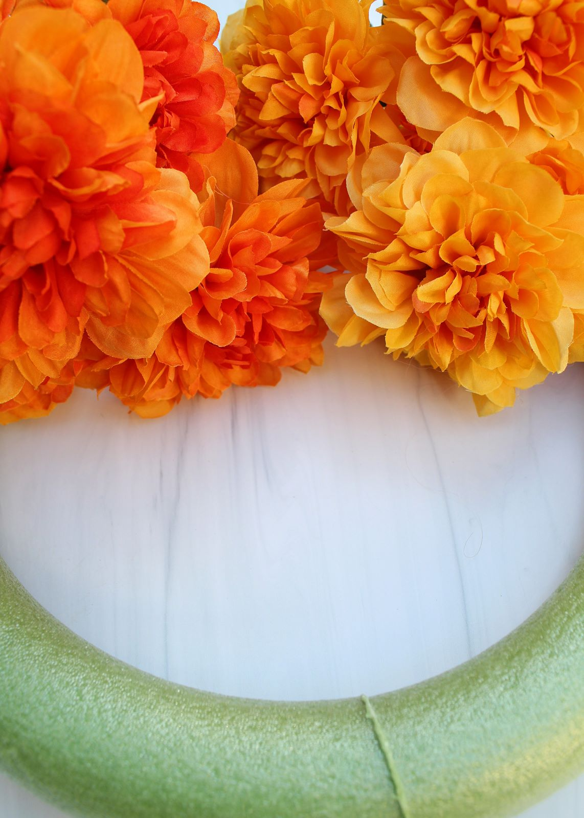 diy fall floral wreath supplies 1