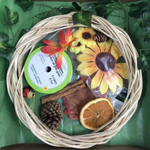 diy small wreath making kit