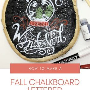 fall chalkboard lettered signs diy pop shop america