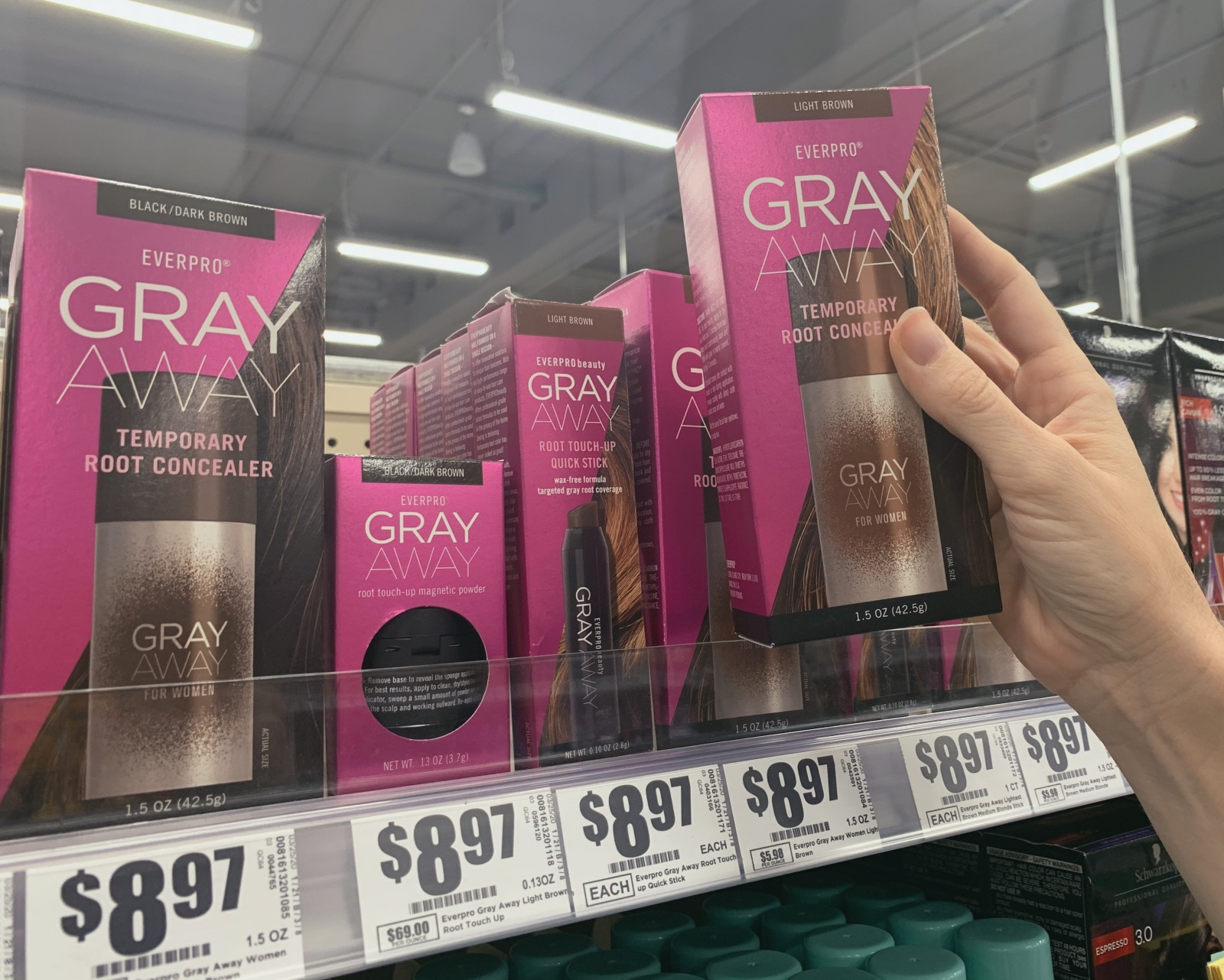find everpro gray away at heb - pop shop america