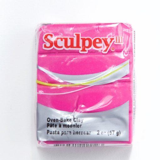 fuschia pearl sculpey polymer clay