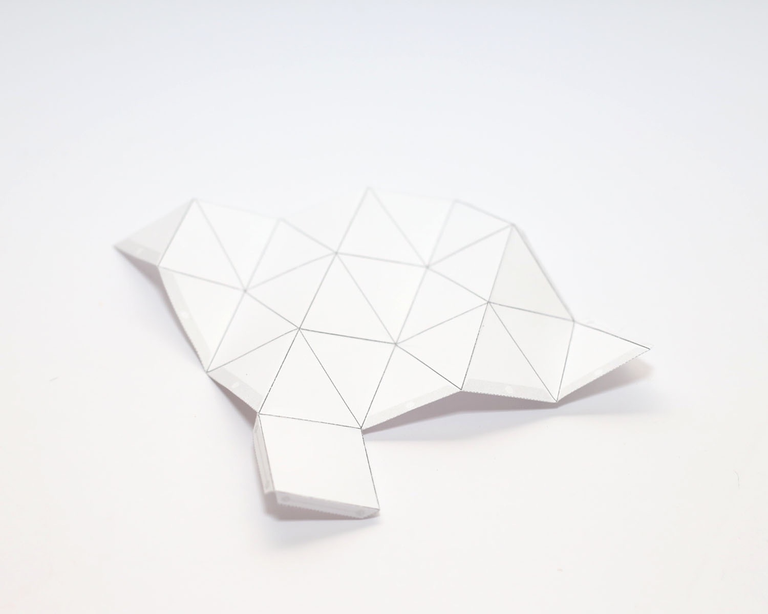 geometric paper template for candle making diy crafts