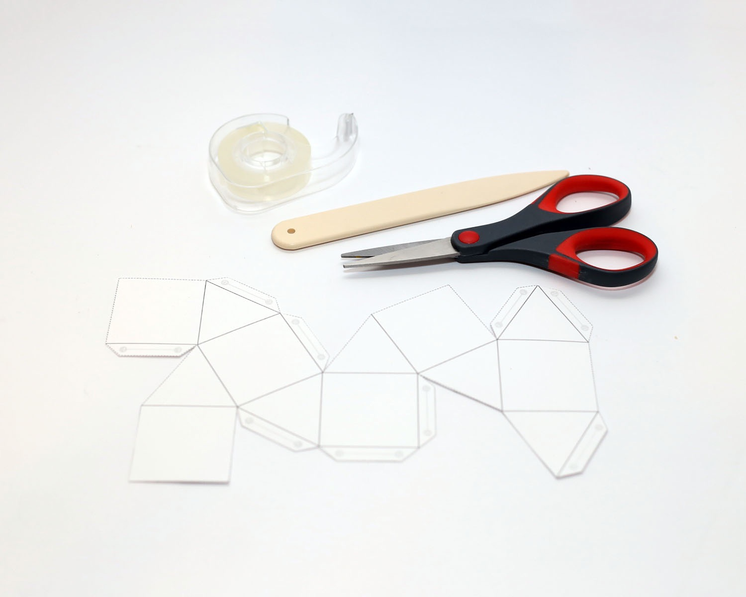 how to cut out your geometric template pop shop america