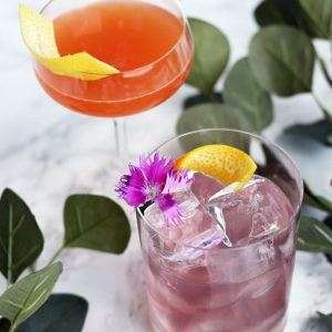 lavender simple syrup cocktail