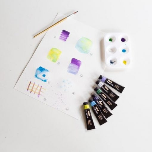 painting-supplies-for-watercolor-paper-and-postcards_square
