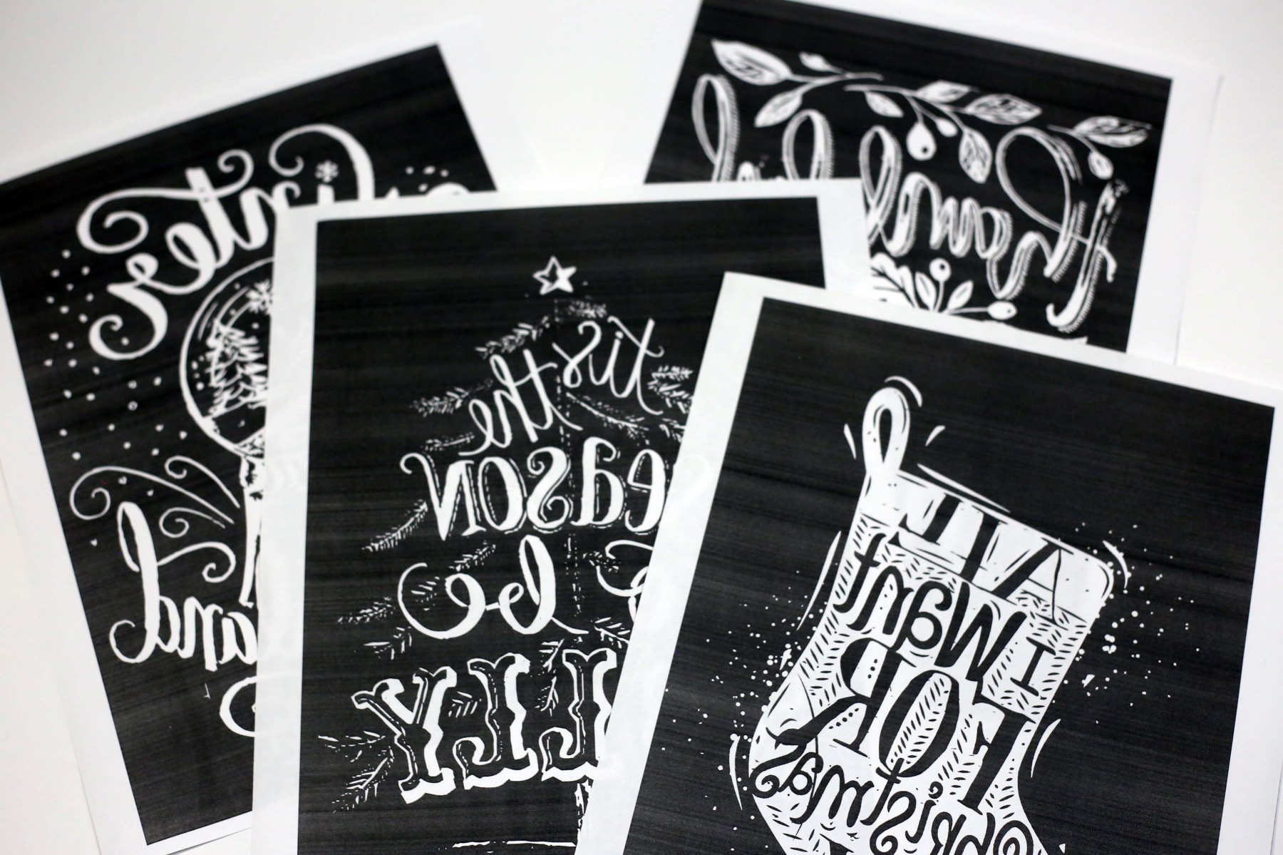printed chalkboard lettering templates pop shop america