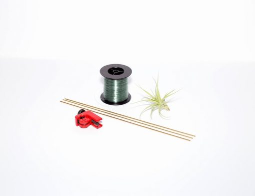 supplies for diy himmeli air plant holder craft kit