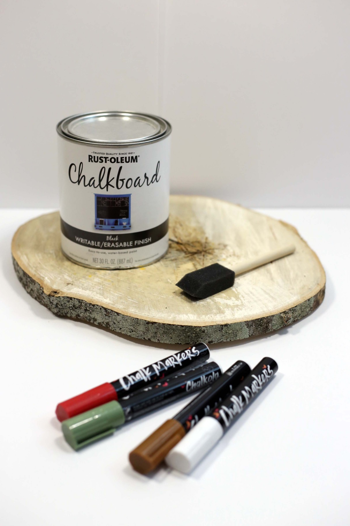 supplies to make chalkboard lettered signs