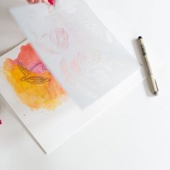 watercolor painting on mixed paper pack