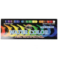 18-Piece Liquid Watercolor Painting Set, Art Supplies
