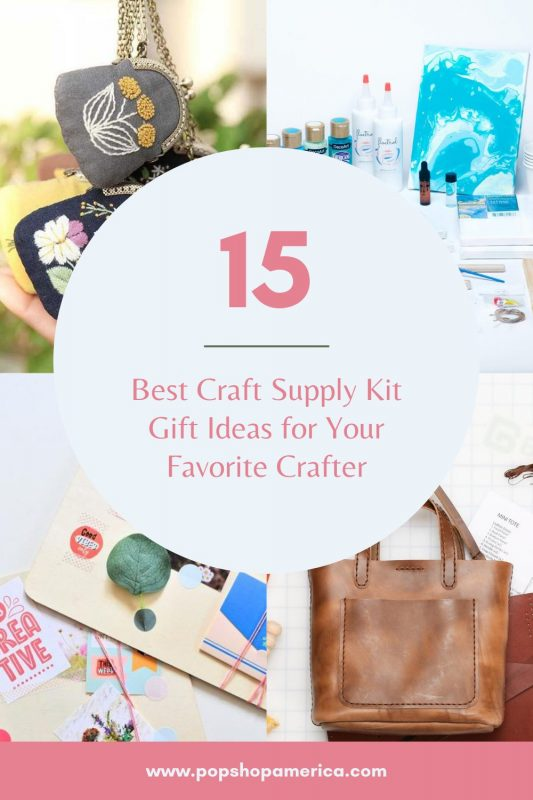 Best Craft Supply Kit Gift Ideas for Your Favorite Crafter