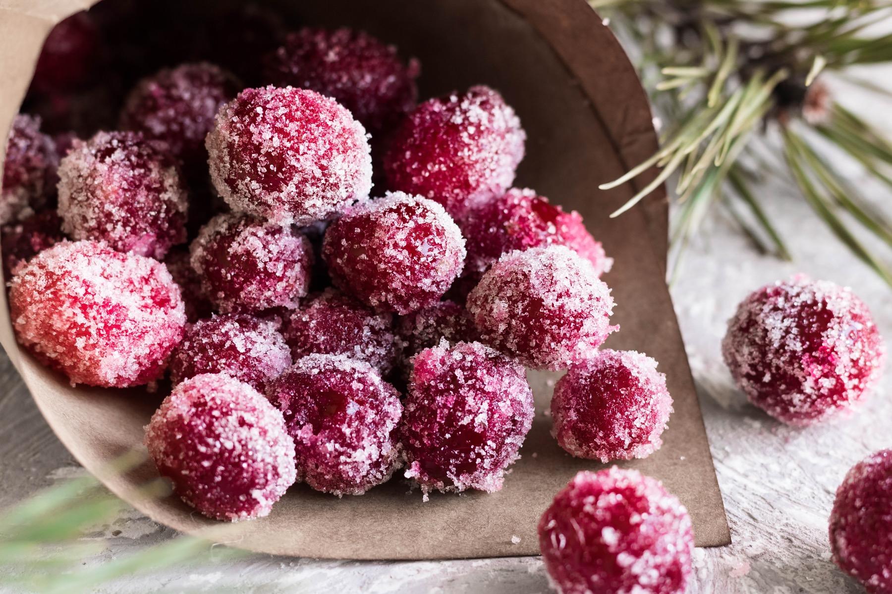 detail finished sugared cranberries recipe pop shop america