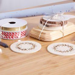 diy wood burning tool kit and wood coasters