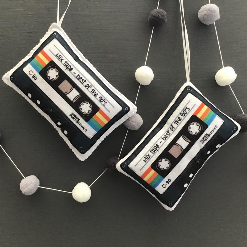 felt mixtape sewing kit gifts