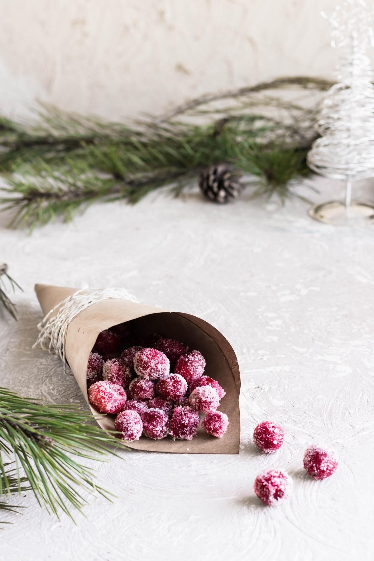 finished sugared cranberries recipe pop shop america