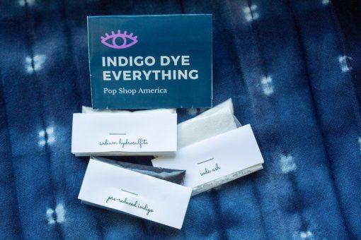 indigo dye diy craft supply kit