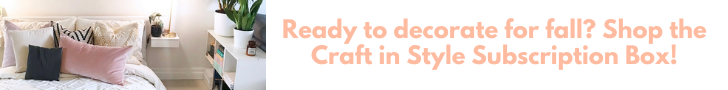 november 2020 craft in style subscription box