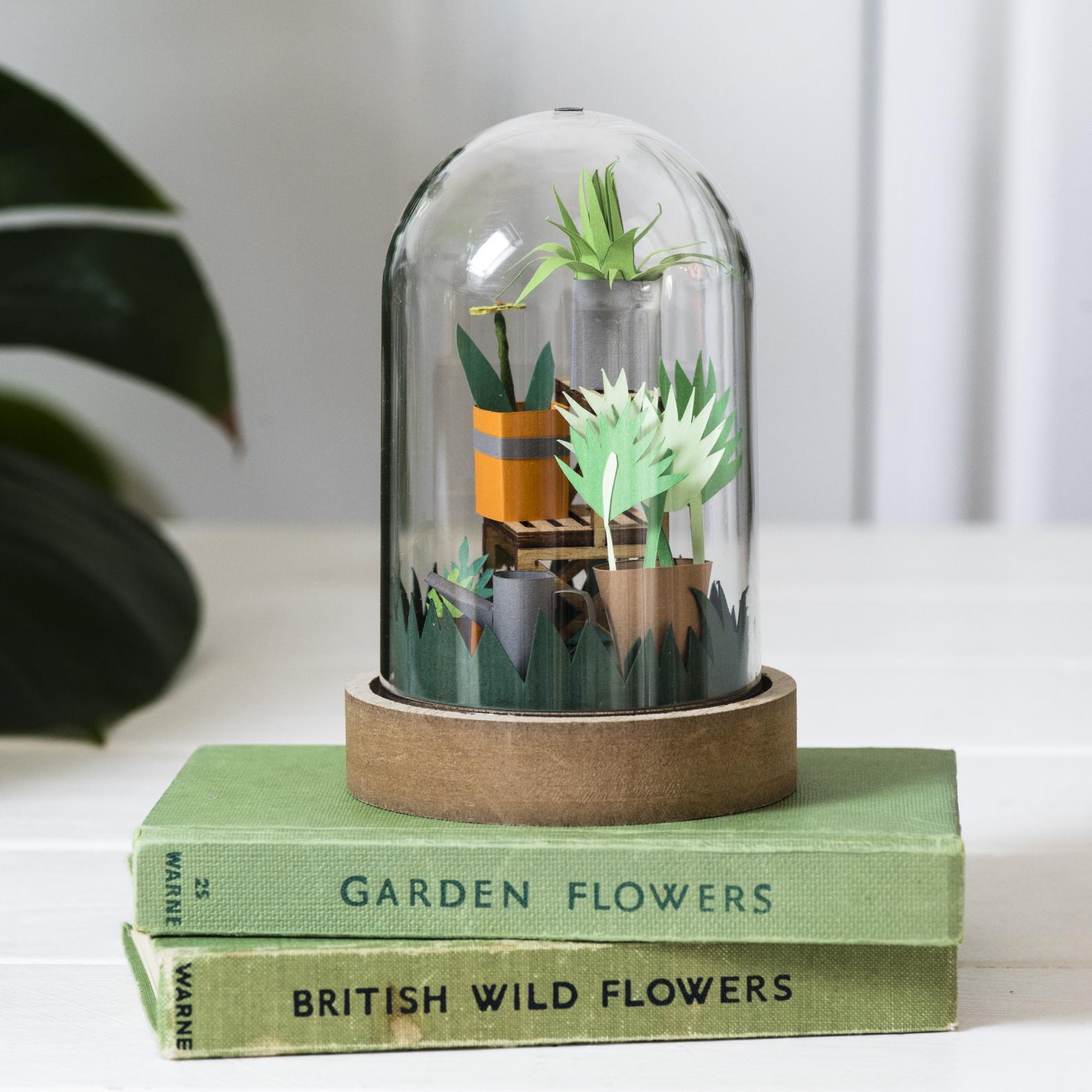 paper garden craft kits gift idea