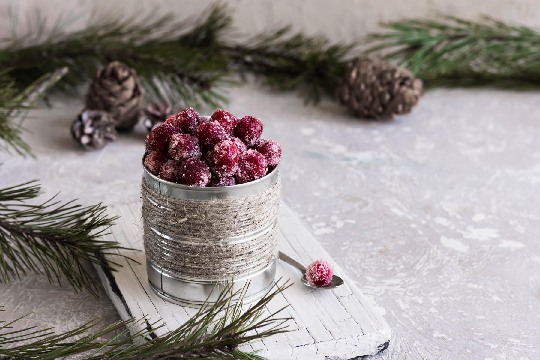 recipe for homemade sugared cranberries pop shop america