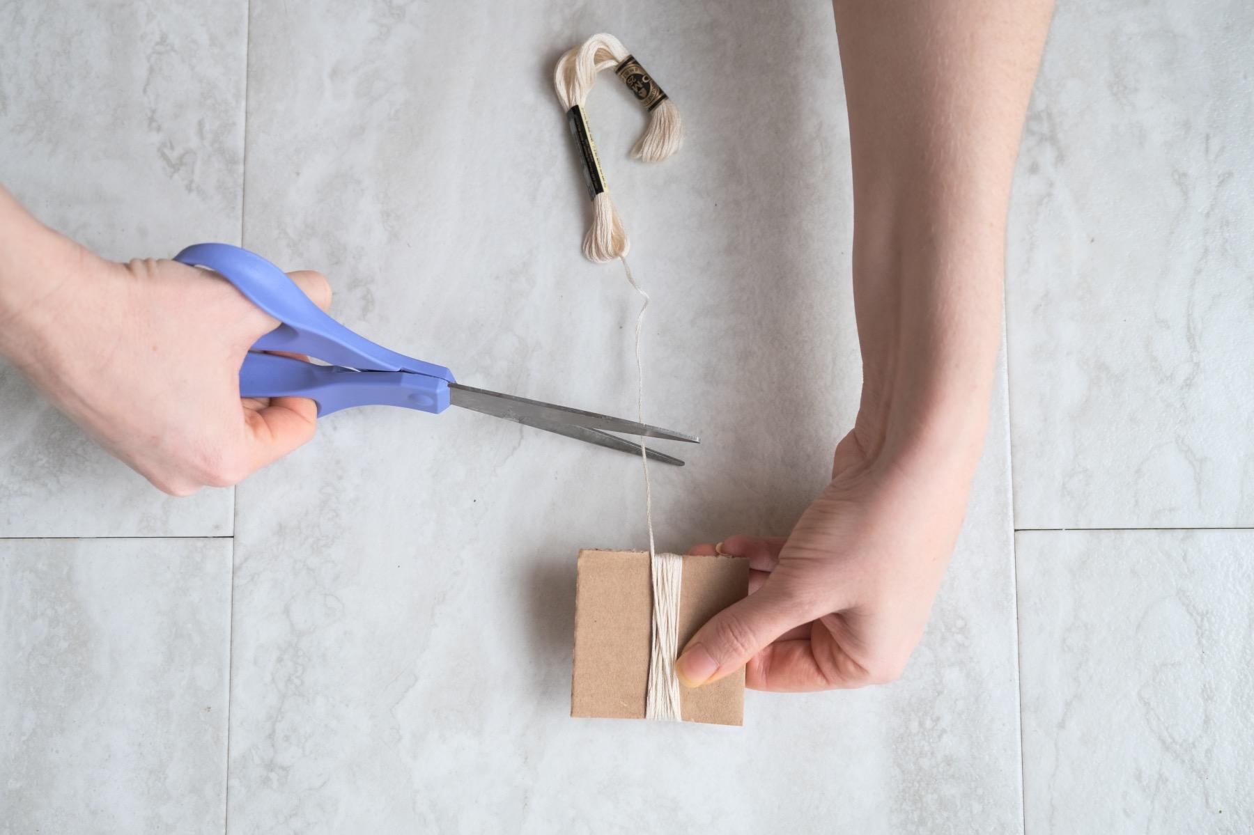 how to make a tassel blanket diy tassel tutorial
