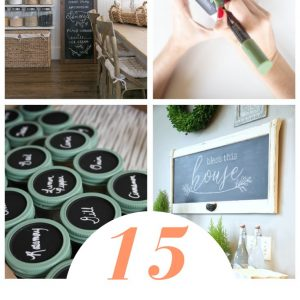 15+ Stylish Chalkboard Painting Craft Ideas Pop Shop America