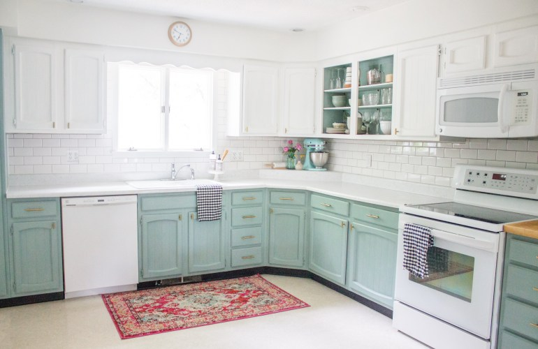 chalkboard painted cabinets diy holland avenue